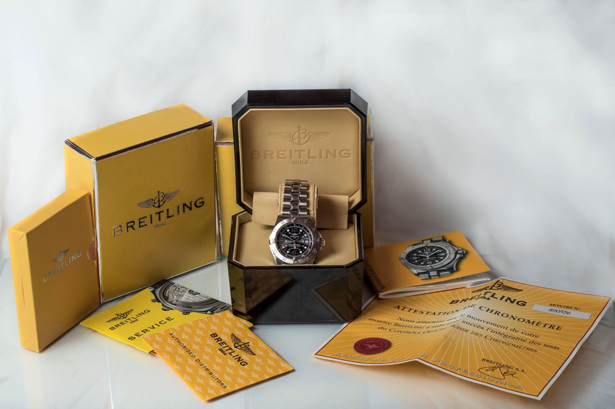 Eladó Breitling Bentley Gmt racing green limited edition óra